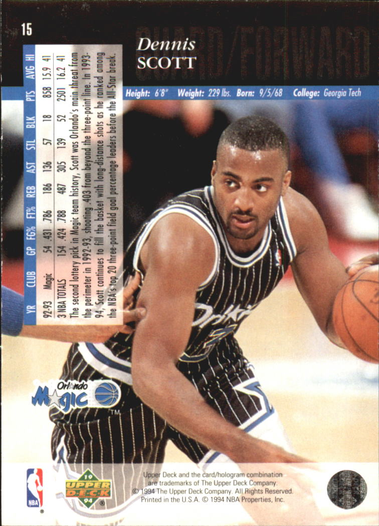 1993-94-Upper-Deck-SE-Electric-Court-Basketball-Cards-Pick-From-List thumbnail 23