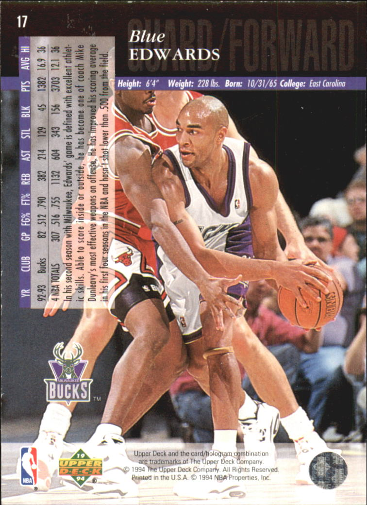 1993-94-Upper-Deck-SE-Electric-Court-Basketball-Cards-Pick-From-List thumbnail 27
