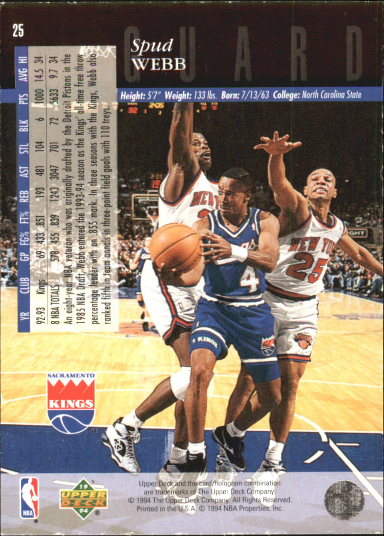 1993-94-Upper-Deck-SE-Electric-Court-Basketball-Cards-Pick-From-List thumbnail 39