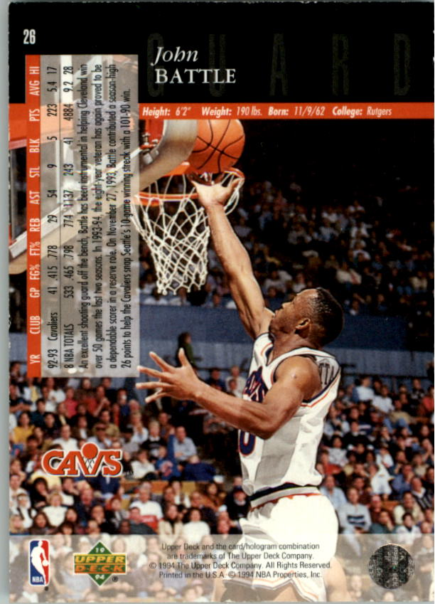 1993-94-Upper-Deck-SE-Electric-Court-Basketball-Cards-Pick-From-List thumbnail 41