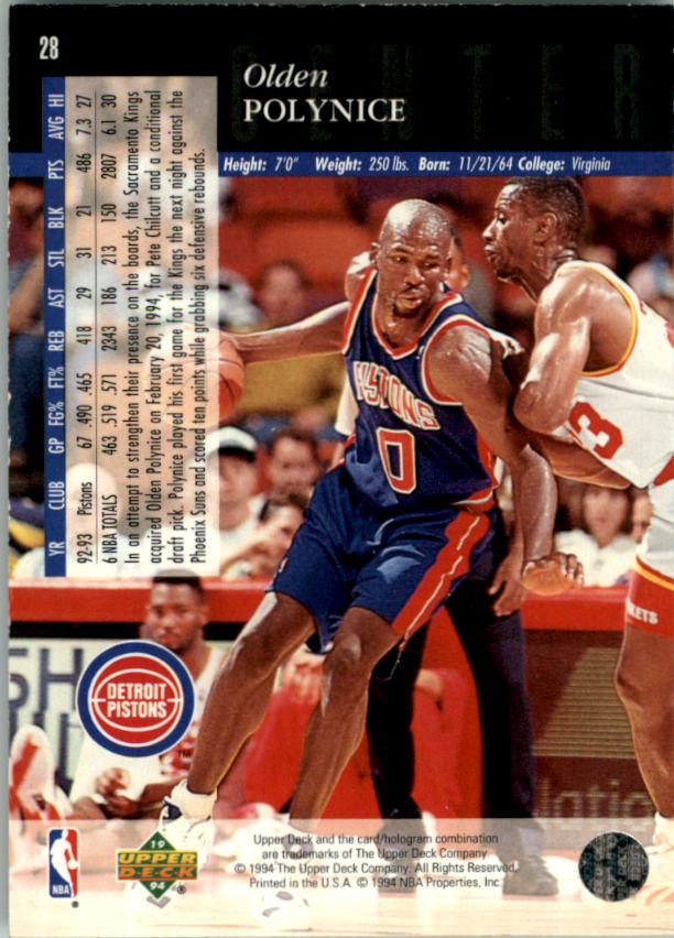 1993-94-Upper-Deck-SE-Electric-Court-Basketball-Cards-Pick-From-List thumbnail 45