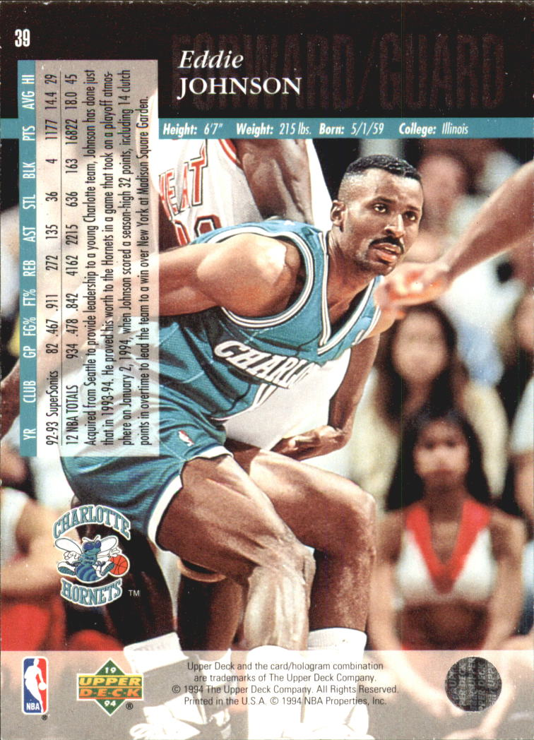 1993-94-Upper-Deck-SE-Electric-Court-Basketball-Cards-Pick-From-List thumbnail 53