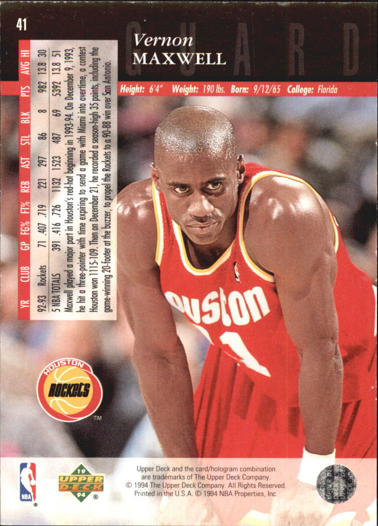 1993-94-Upper-Deck-SE-Electric-Court-Basketball-Cards-Pick-From-List thumbnail 55