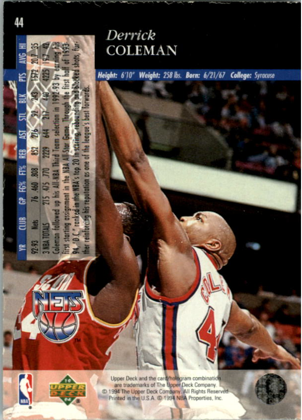 1993-94-Upper-Deck-SE-Electric-Court-Basketball-Cards-Pick-From-List thumbnail 61
