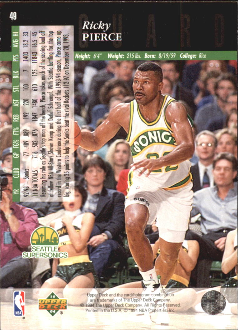1993-94-Upper-Deck-SE-Electric-Court-Basketball-Cards-Pick-From-List thumbnail 67