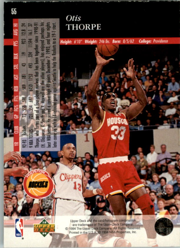 1993-94-Upper-Deck-SE-Electric-Court-Basketball-Cards-Pick-From-List thumbnail 69