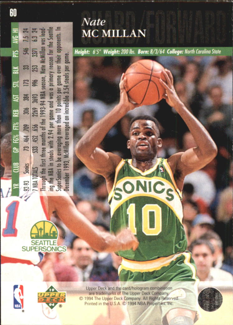 1993-94-Upper-Deck-SE-Electric-Court-Basketball-Cards-Pick-From-List thumbnail 75
