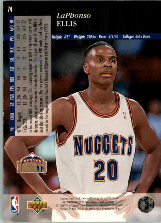 1993-94-Upper-Deck-SE-Electric-Court-Basketball-Cards-Pick-From-List thumbnail 89