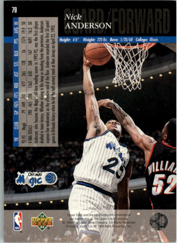 1993-94-Upper-Deck-SE-Electric-Court-Basketball-Cards-Pick-From-List thumbnail 93