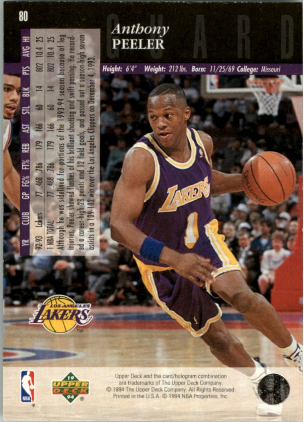 1993-94-Upper-Deck-SE-Electric-Court-Basketball-Cards-Pick-From-List thumbnail 95