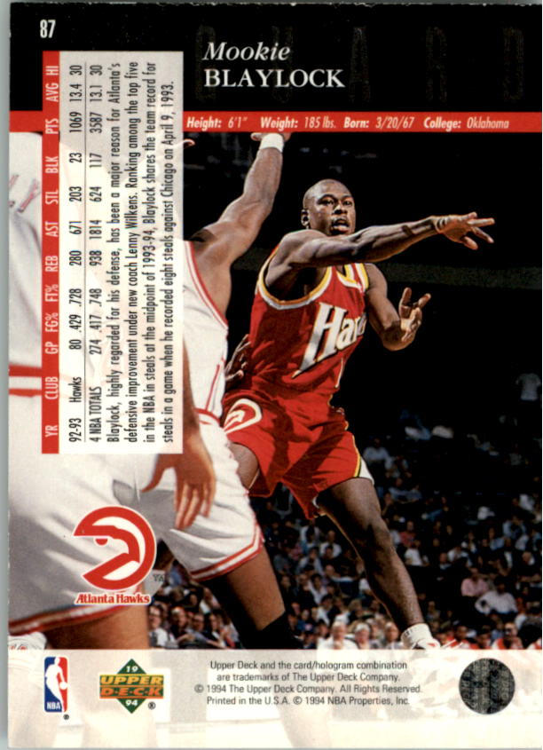1993-94-Upper-Deck-SE-Electric-Court-Basketball-Cards-Pick-From-List thumbnail 105