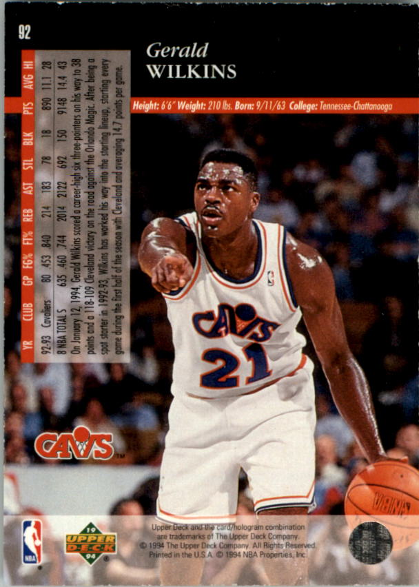 1993-94-Upper-Deck-SE-Electric-Court-Basketball-Cards-Pick-From-List thumbnail 111
