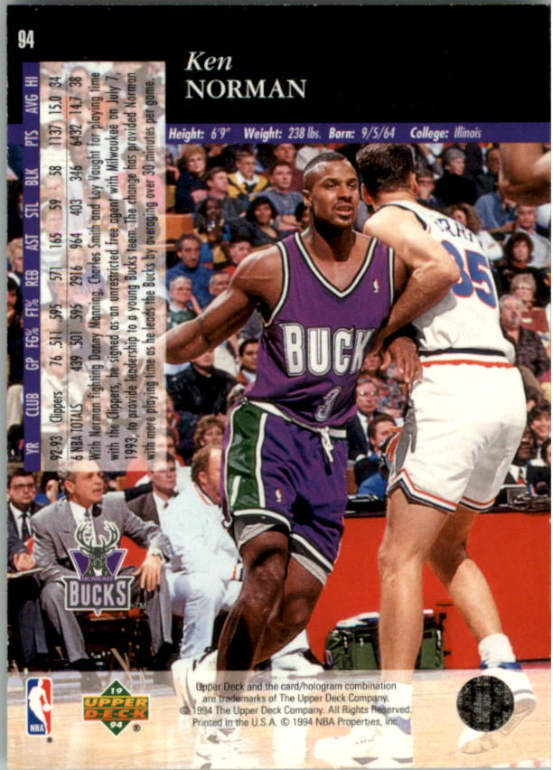 1993-94-Upper-Deck-SE-Electric-Court-Basketball-Cards-Pick-From-List thumbnail 115