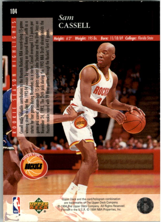 1993-94-Upper-Deck-SE-Electric-Court-Basketball-Cards-Pick-From-List thumbnail 125