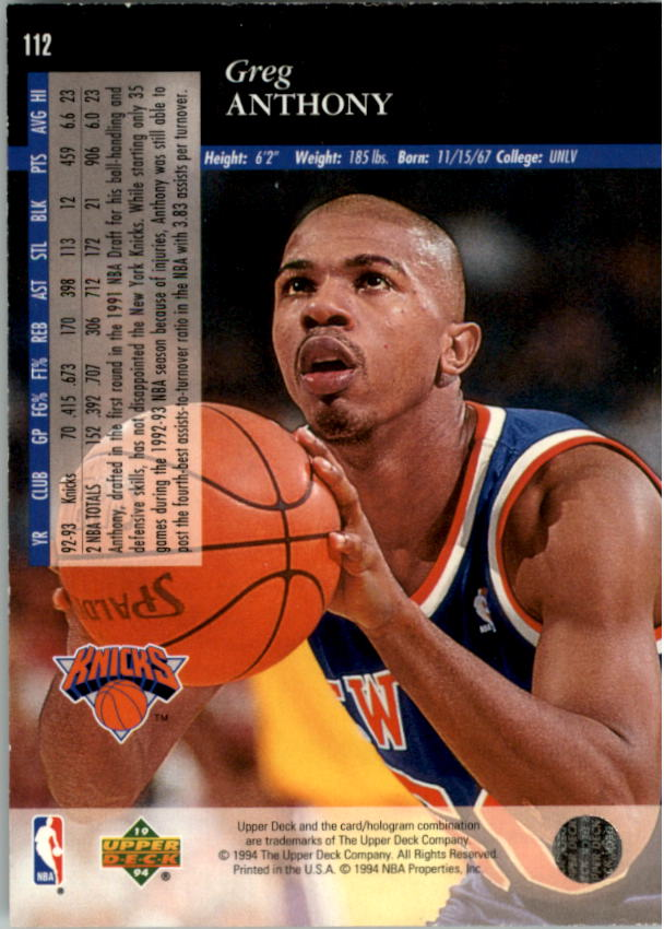 1993-94-Upper-Deck-SE-Electric-Court-Basketball-Cards-Pick-From-List thumbnail 139