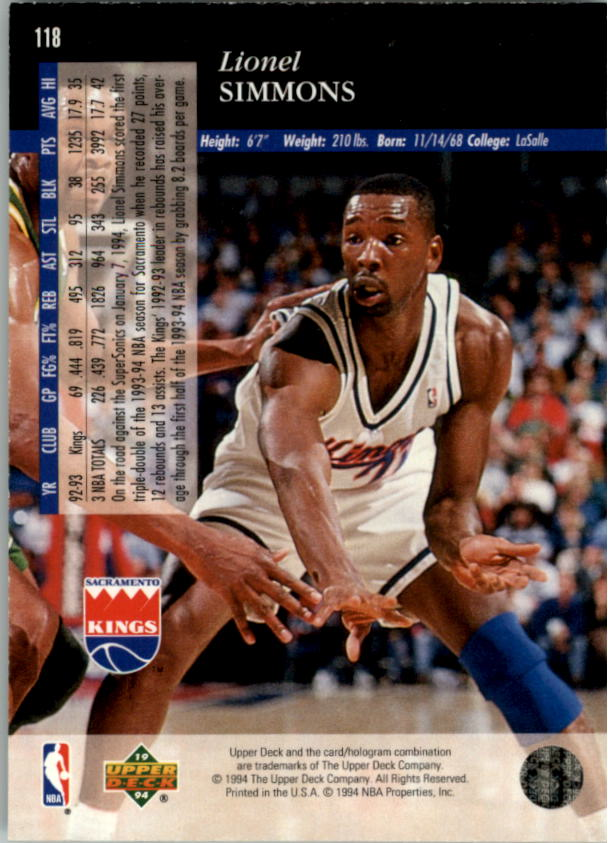 1993-94-Upper-Deck-SE-Electric-Court-Basketball-Cards-Pick-From-List thumbnail 149