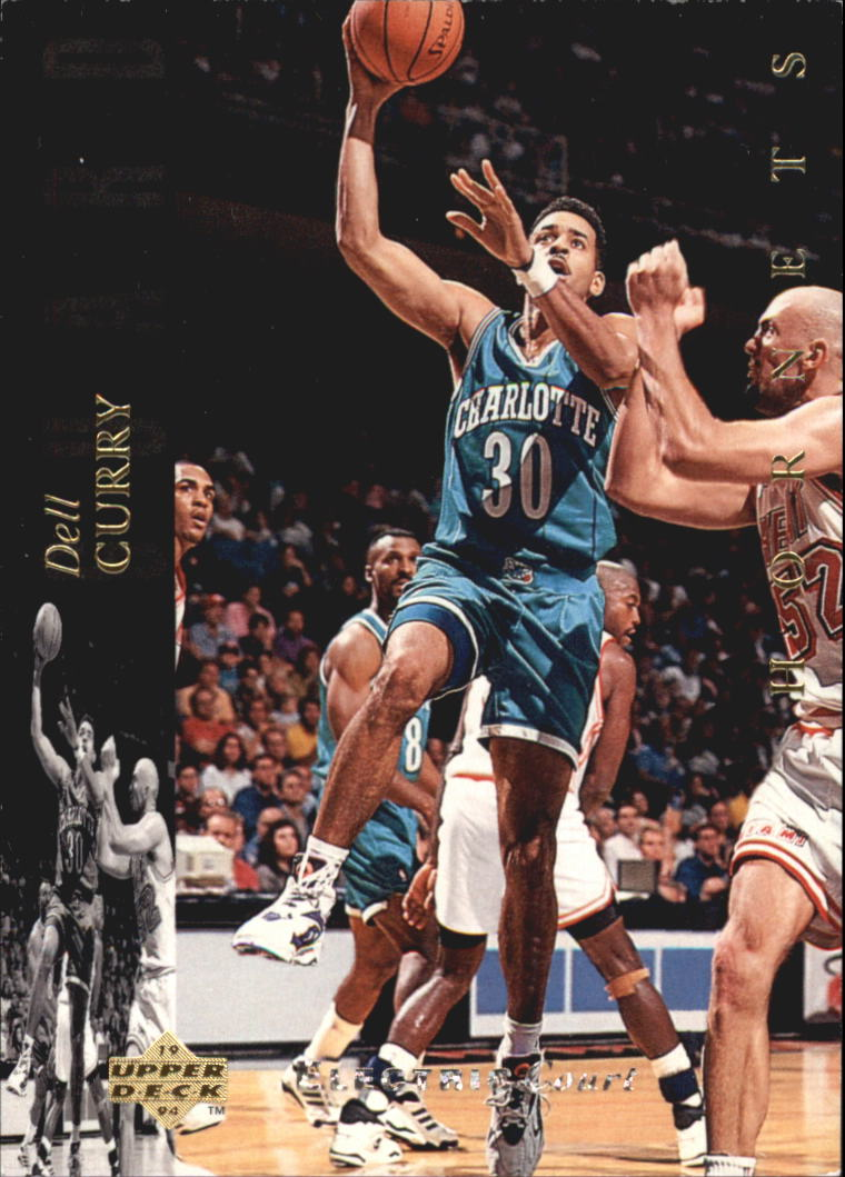 1993-94 Upper Deck SE Electric Court #119 Dell Curry