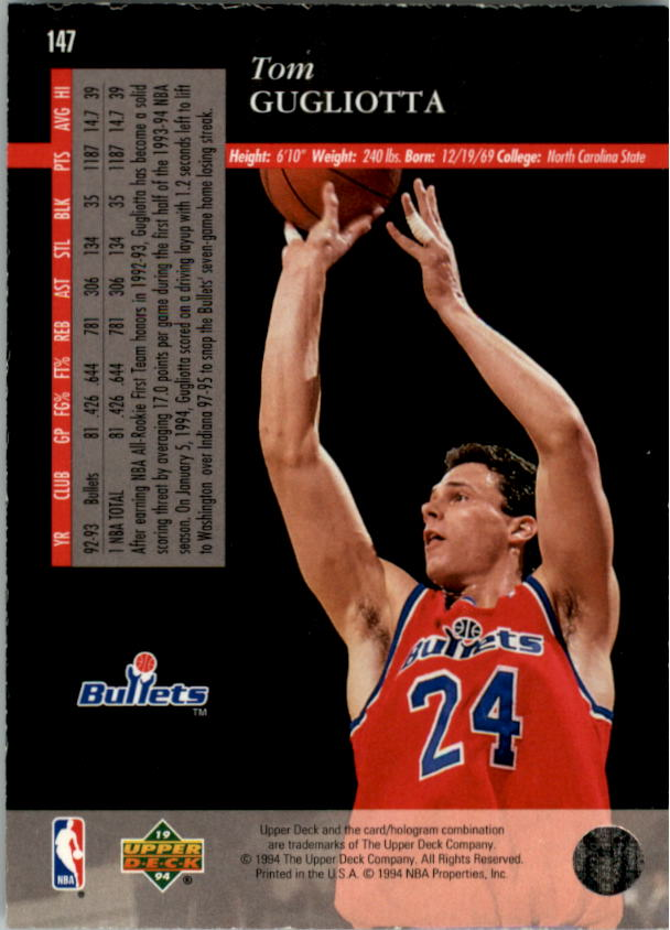 1993-94-Upper-Deck-SE-Electric-Court-Basketball-Cards-Pick-From-List thumbnail 171