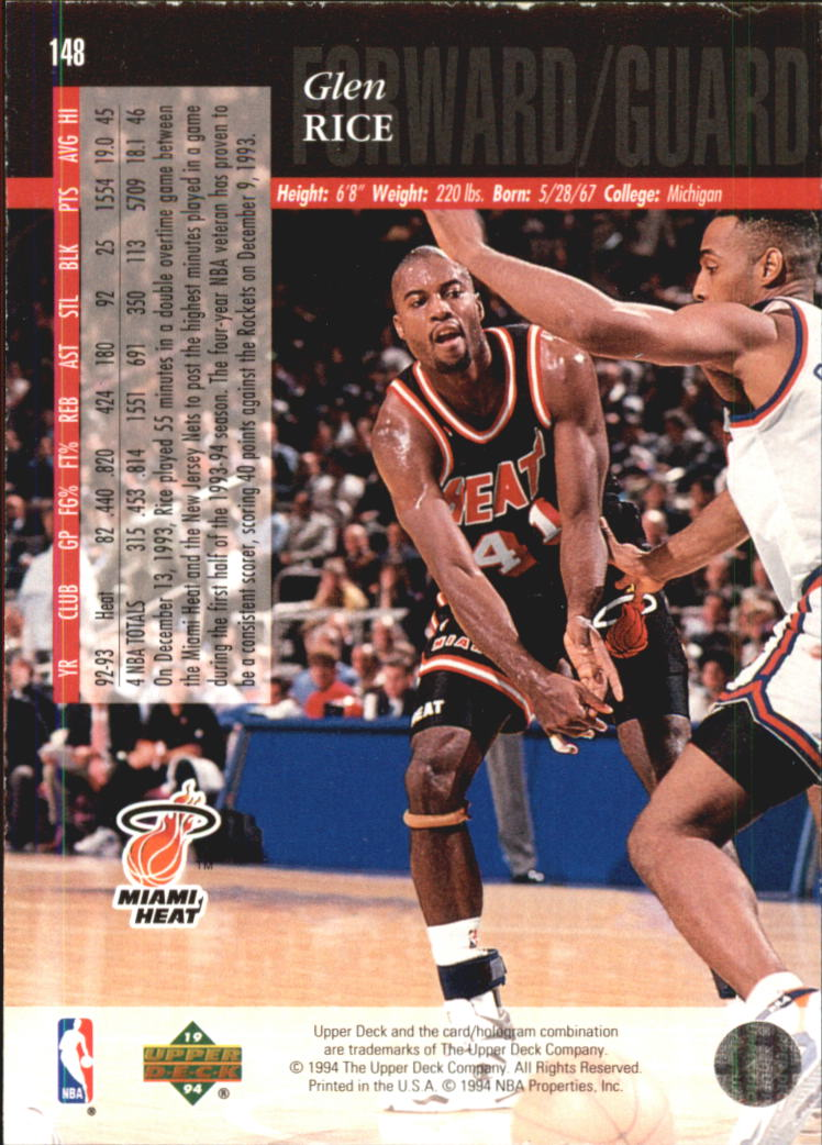 1993-94-Upper-Deck-SE-Electric-Court-Basketball-Cards-Pick-From-List thumbnail 173