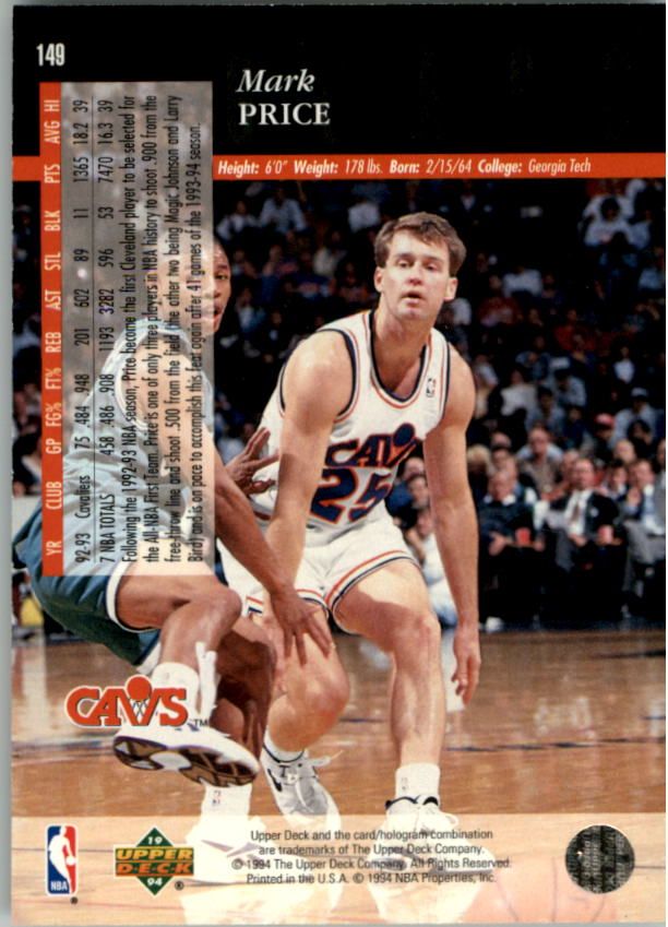 1993-94-Upper-Deck-SE-Electric-Court-Basketball-Cards-Pick-From-List thumbnail 175