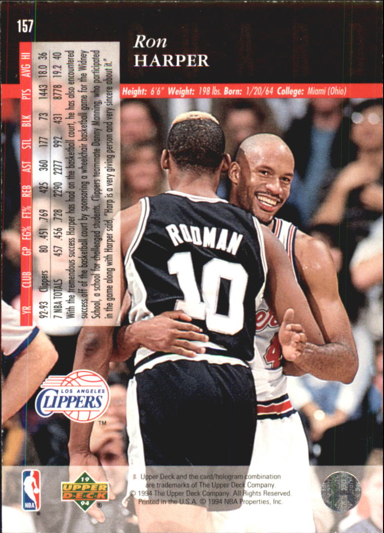 1993-94-Upper-Deck-SE-Electric-Court-Basketball-Cards-Pick-From-List thumbnail 187