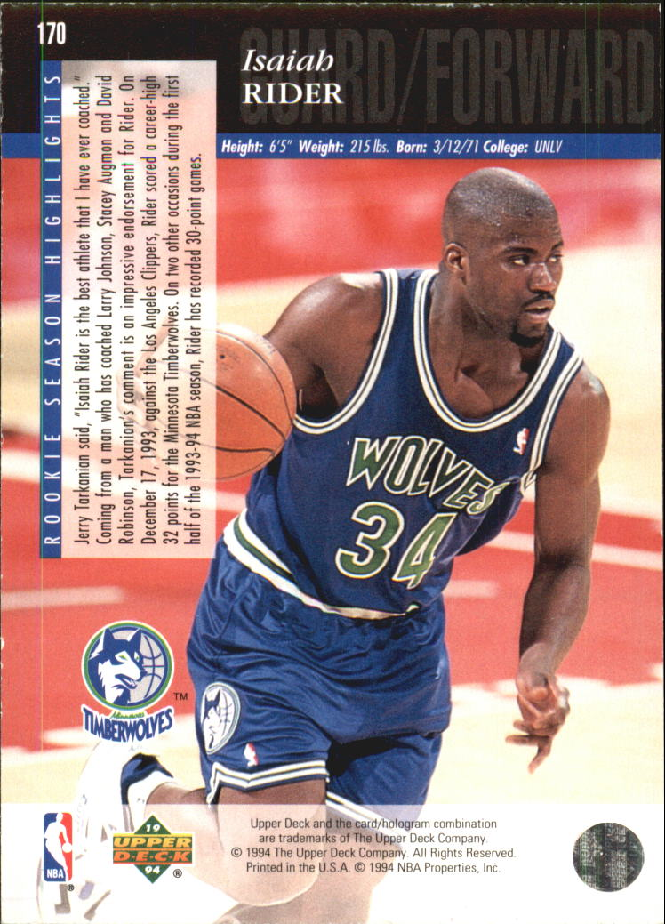 1993-94-Upper-Deck-SE-Electric-Court-Basketball-Cards-Pick-From-List thumbnail 209