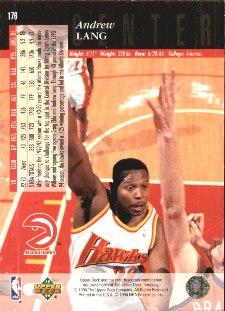 1993-94-Upper-Deck-SE-Electric-Court-Basketball-Cards-Pick-From-List thumbnail 217