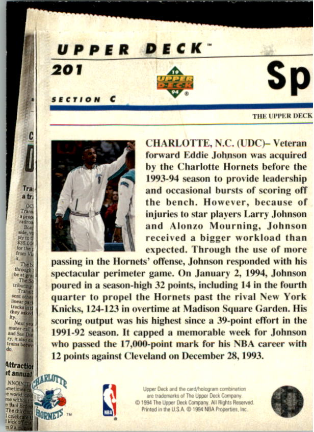 1993-94-Upper-Deck-SE-Electric-Court-Basketball-Cards-Pick-From-List thumbnail 232