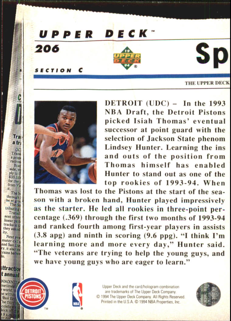 1993-94-Upper-Deck-SE-Electric-Court-Basketball-Cards-Pick-From-List thumbnail 238