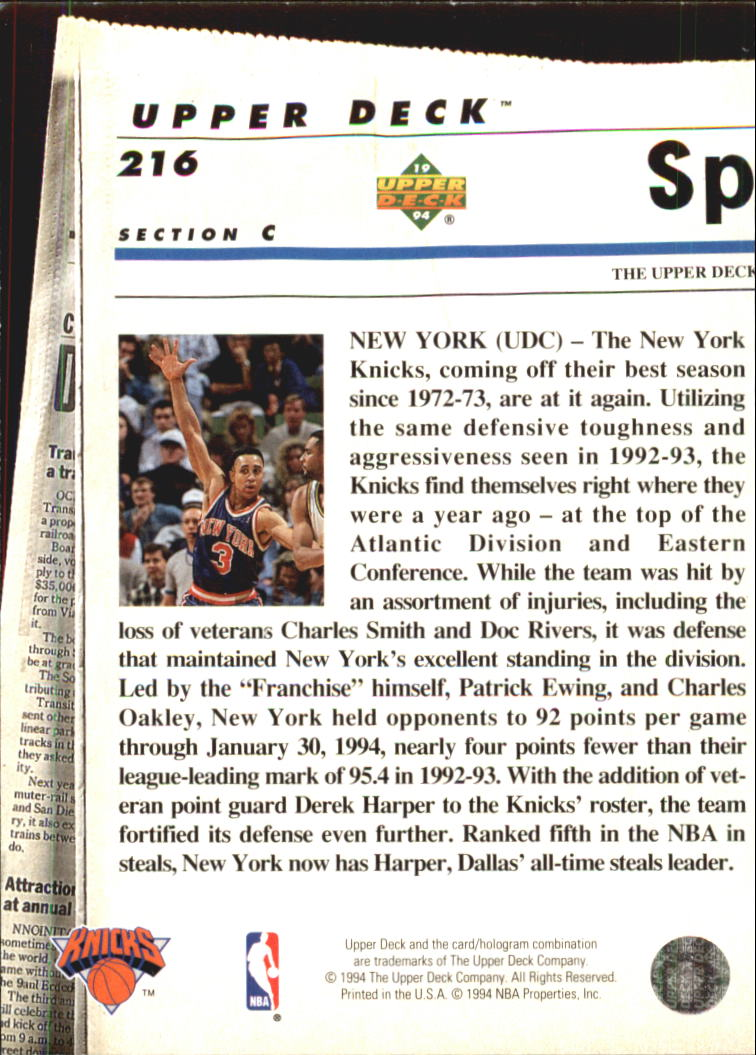1993-94-Upper-Deck-SE-Electric-Court-Basketball-Cards-Pick-From-List thumbnail 248
