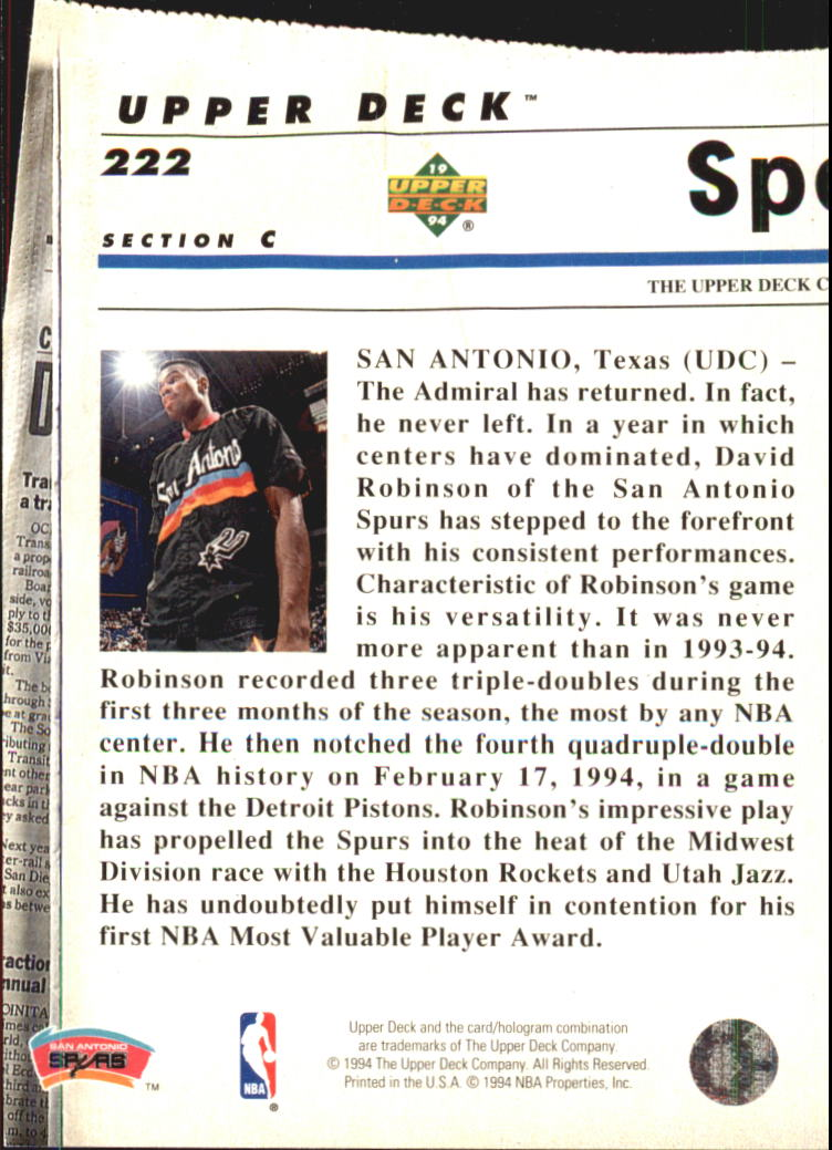 1993-94-Upper-Deck-SE-Electric-Court-Basketball-Cards-Pick-From-List thumbnail 256
