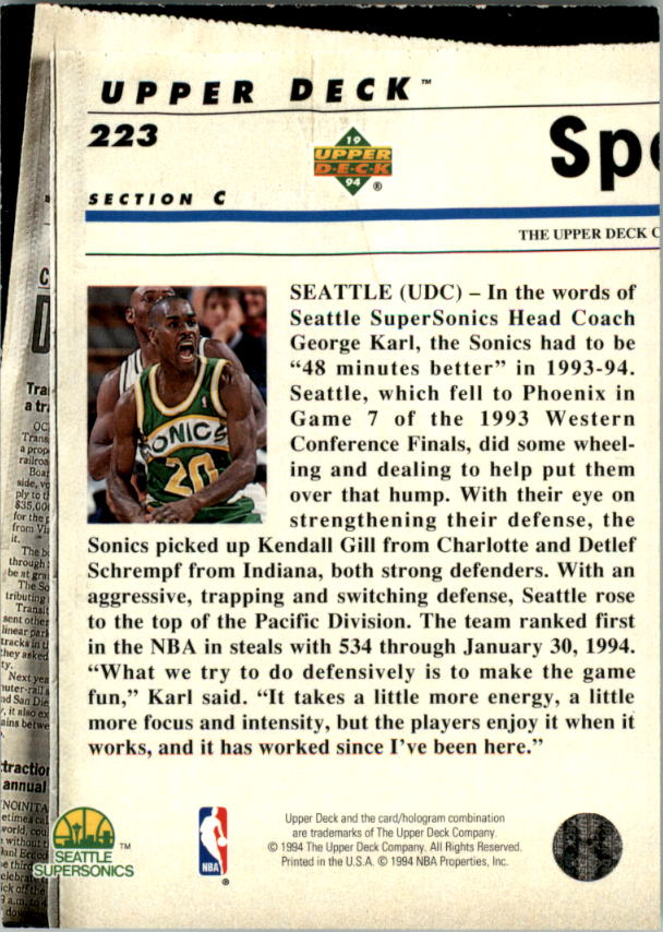 1993-94-Upper-Deck-SE-Electric-Court-Basketball-Cards-Pick-From-List thumbnail 258