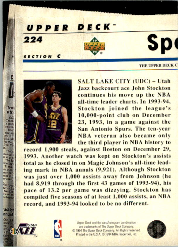 1993-94-Upper-Deck-SE-Electric-Court-Basketball-Cards-Pick-From-List thumbnail 260