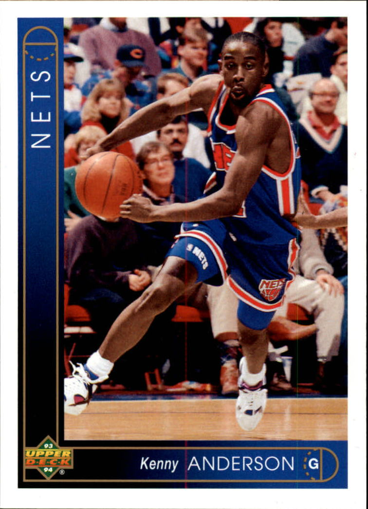 1993-94 Upper Deck #2 Kenny Anderson