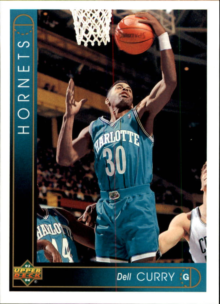 1993-94 Upper Deck #3 Dell Curry
