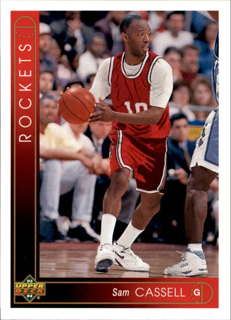 1993-94 Upper Deck #161 Sam Cassell RC