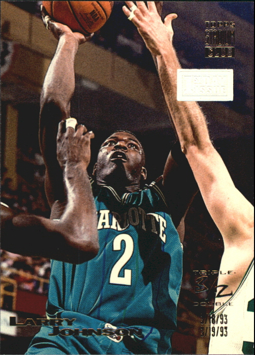 1993-94 Stadium Club First Day Issue #6 Larry Johnson TD