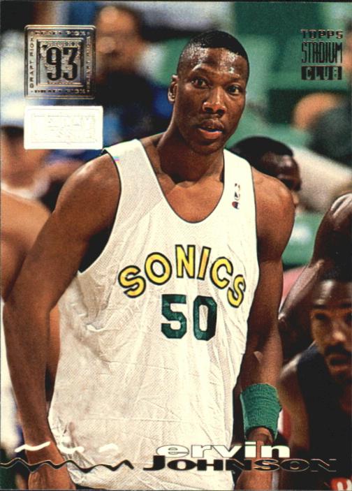 1993-94 Stadium Club First Day Issue #36 Ervin Johnson