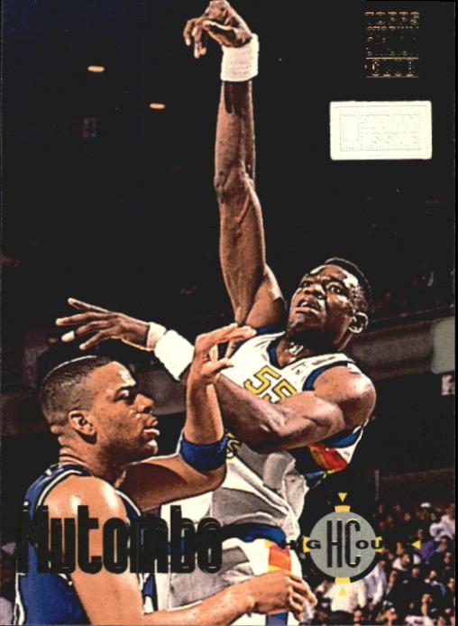 1993-94 Stadium Club First Day Issue #63 Dikembe Mutombo HC