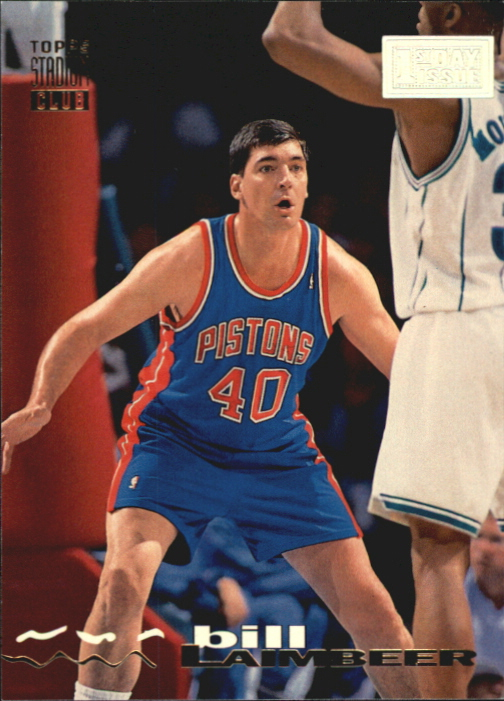 1993-94 Stadium Club First Day Issue #131 Bill Laimbeer