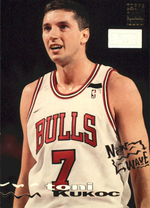 1993-94 Stadium Club First Day Issue #275 Toni Kukoc NW