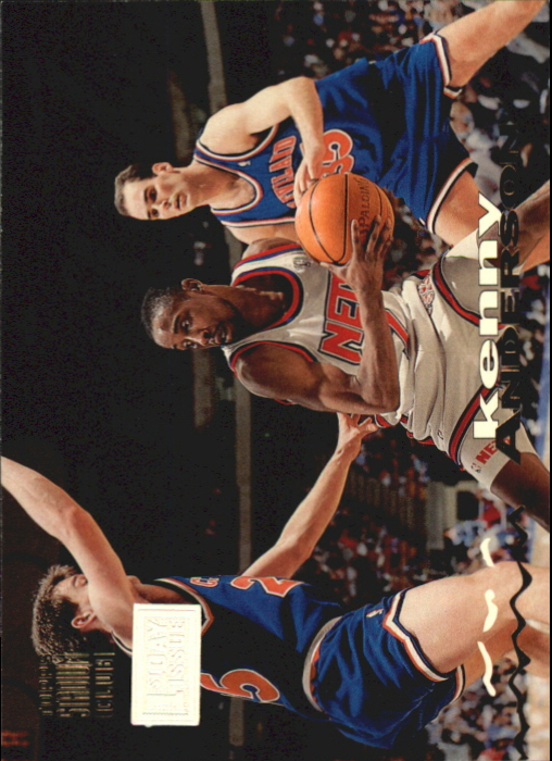 1993-94 Stadium Club First Day Issue #330 Kenny Anderson