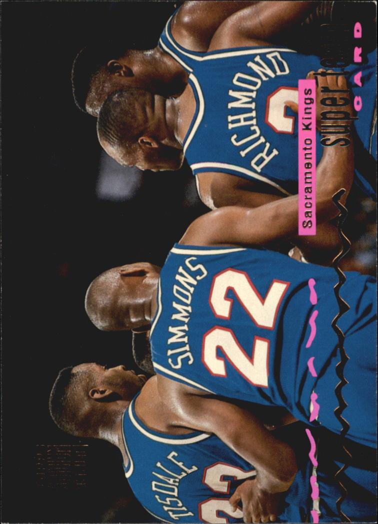 1993 94 Stadium Club Super Teams 23 Sacramento Kings Lionel