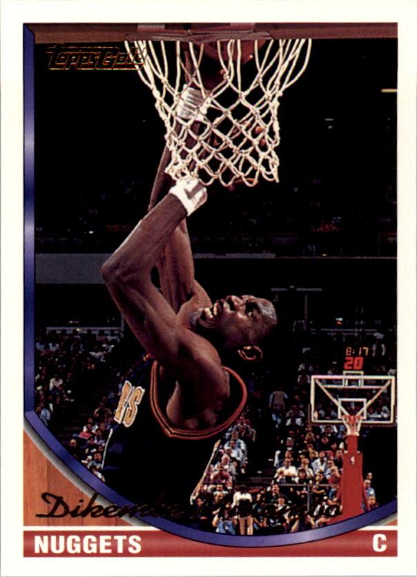 1993-94 Topps Gold #262 Dikembe Mutombo