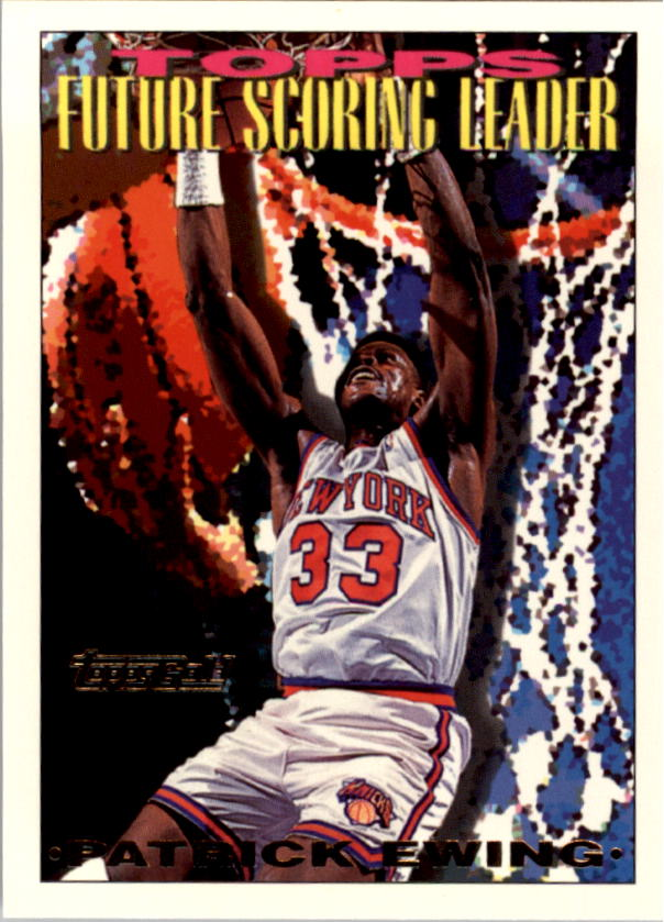 1993-94 Topps Gold #390 Patrick Ewing FSL