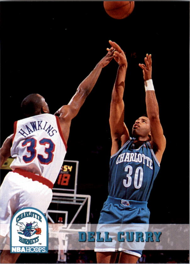 1993-94 Hoops #19 Dell Curry