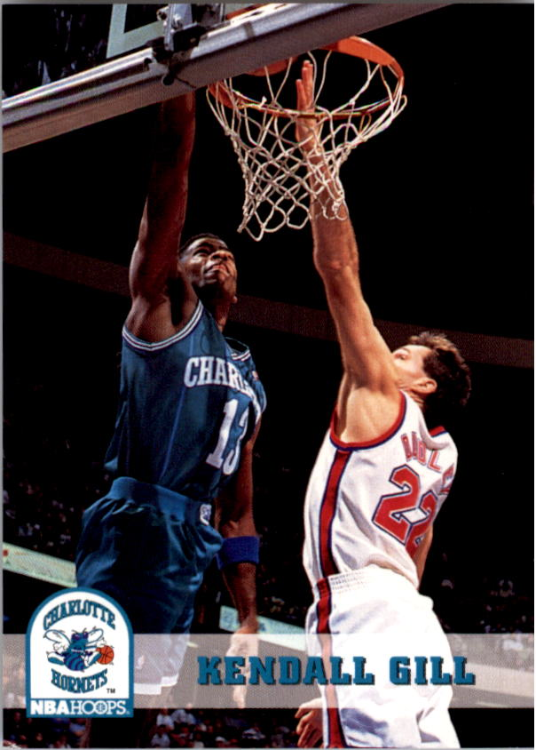 1993-94 Hoops #21 Kendall Gill