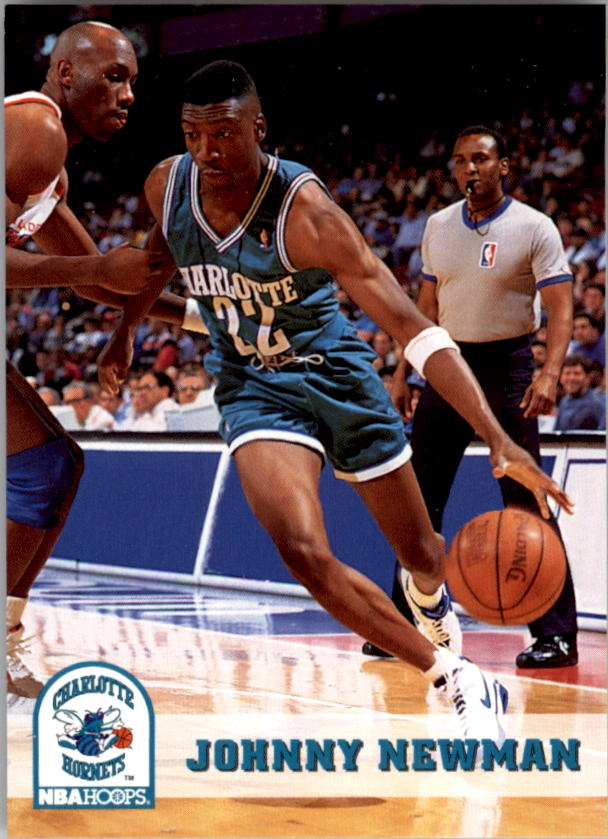 1993-94 Hoops #24 Johnny Newman