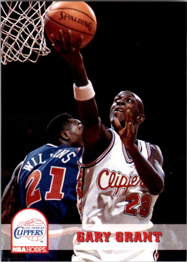 1993-94 Hoops #93 Gary Grant