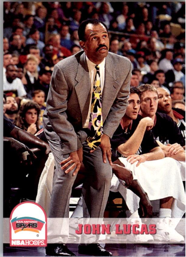 1993-94 Hoops #253 John Lucas CO